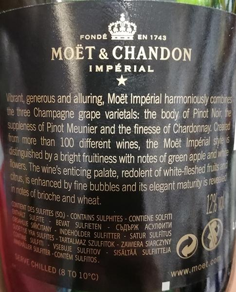 Champanhe Moet & Chandon Brut Imperial