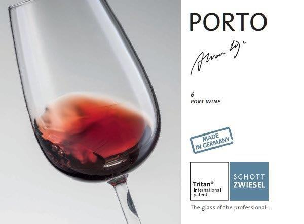 Glass for Port Wine from Arq. Siza Vieira (6un Box)